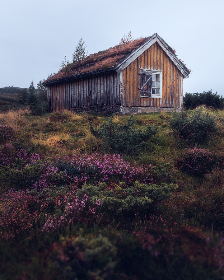 Abandoned cabin in Norway