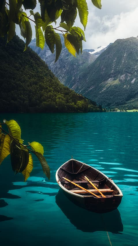 Oppstrynsvatnet in Norway