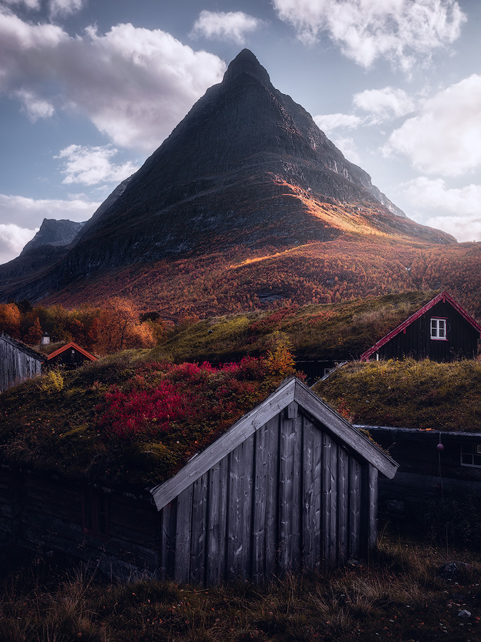 Autumn colors in Innerdalen