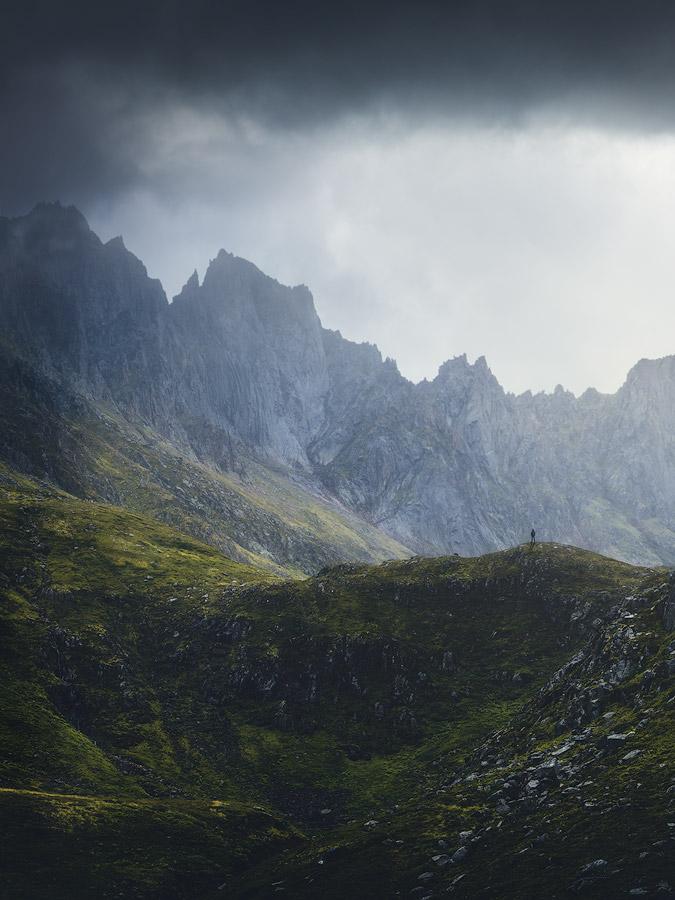 The valley Molladalen in Norway.
