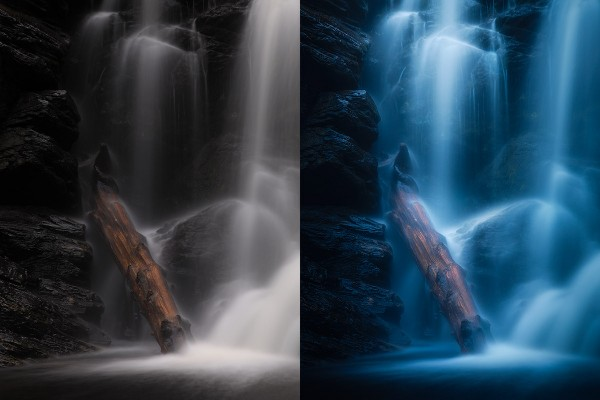 Waterfall post-processing tutorial.