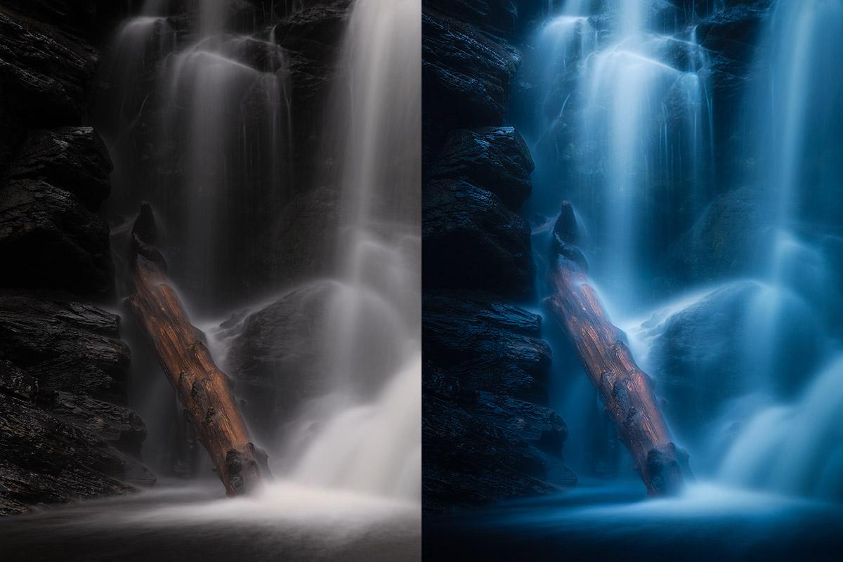 Waterfall post-processing tutorial.