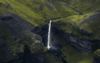 Kvernufoss in South-Iceland