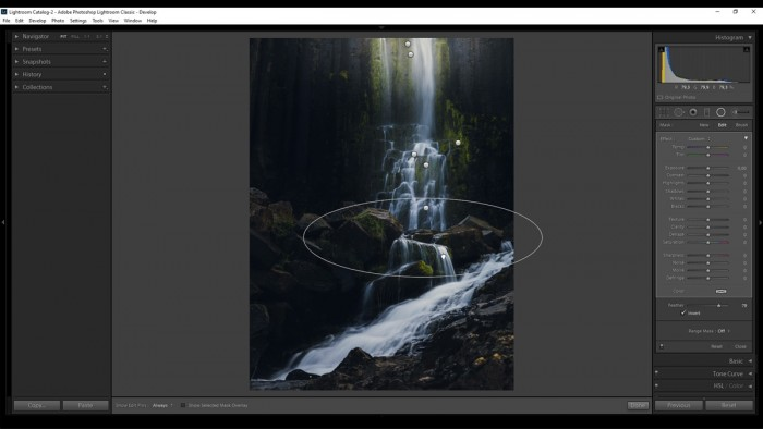 Post-processing tutorials in Photoshop and Lightroom