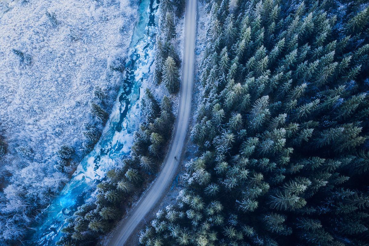 Dronefoto og film i Trøndagel