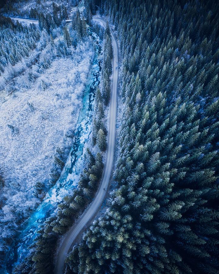 Dronefoto i Trøndelag og Trondheim