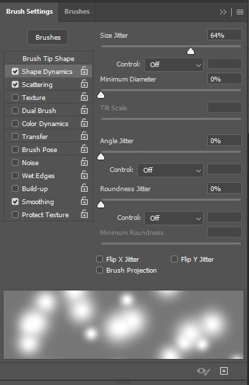 Create brushes in Photoshop