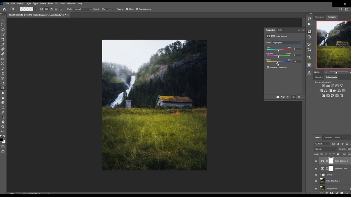 Learn how to create a atmospheric scene in Lightroom and Photoshop