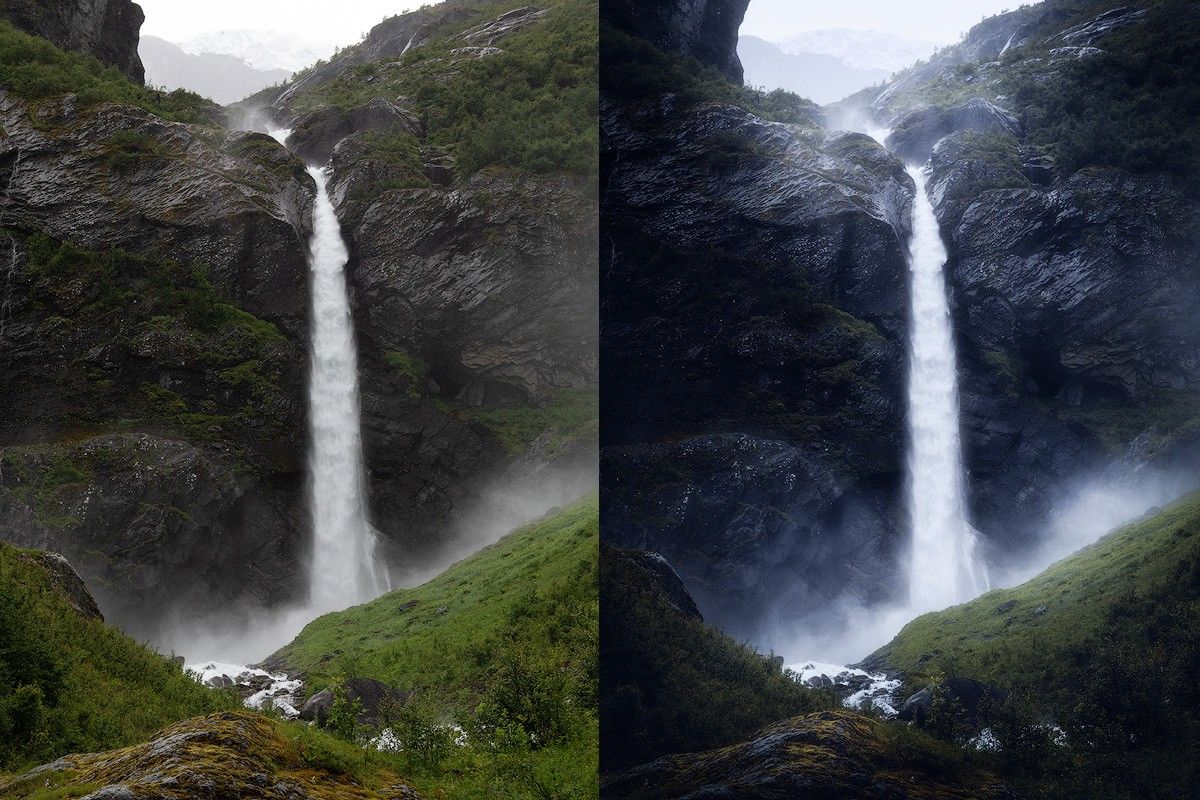 Moody landscape photography tutorial